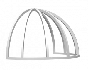 Dome Awning Structural Frame - Metro Awnings of Las Vegas, Nevada
