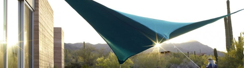 Sunbrella Fabric used in Custom Shade Sail Application
